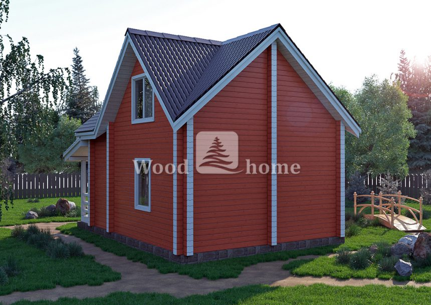 Большие двухэтажные дома