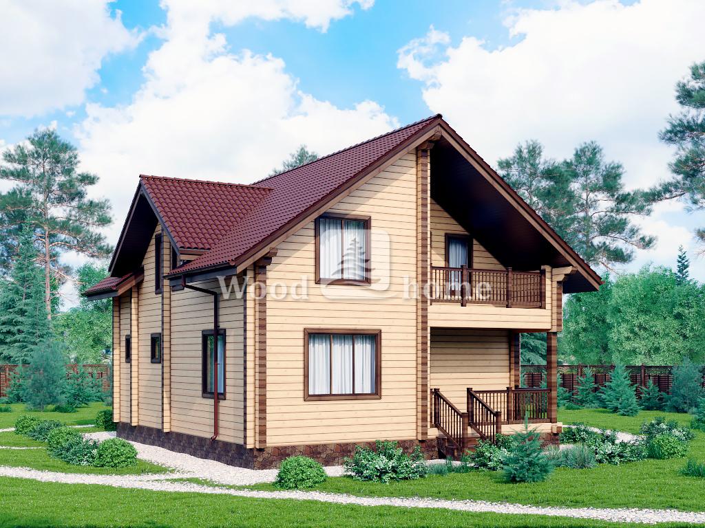 Деревянные дома 200 м2