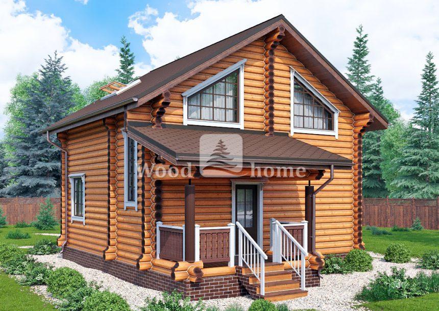 Деревянные дома из бревна цены
