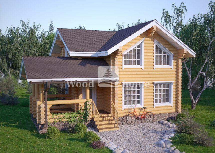 Деревянные дома из бревна под ключ цены