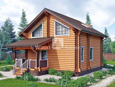 Дом бревно ключ деревянные