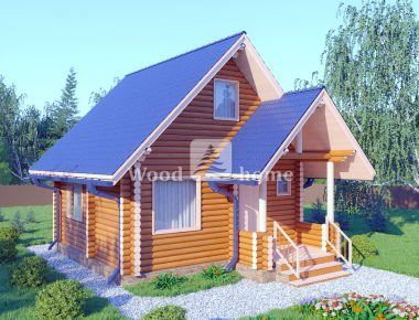 Дом из бревна дешево
