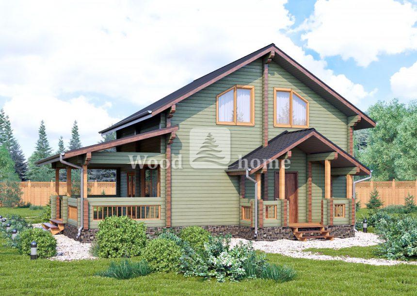 Дом из бруса цена