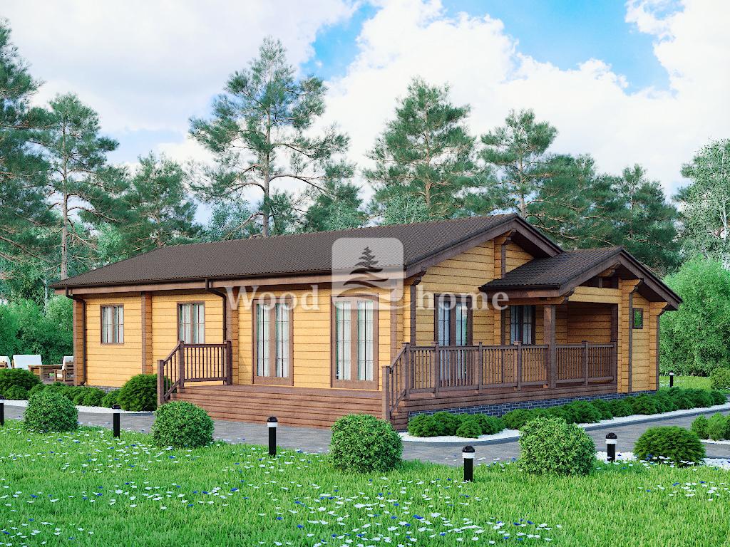 Дом из бруса для постоянного проживания цена