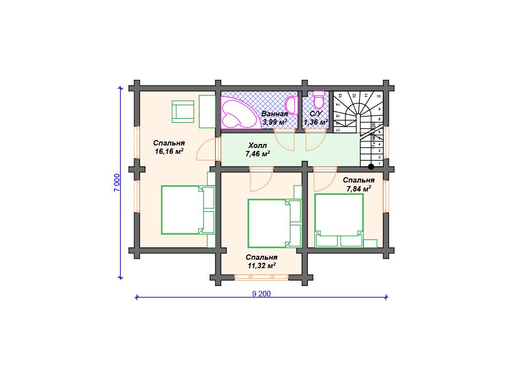 Дом из бруса проекты и цены фото