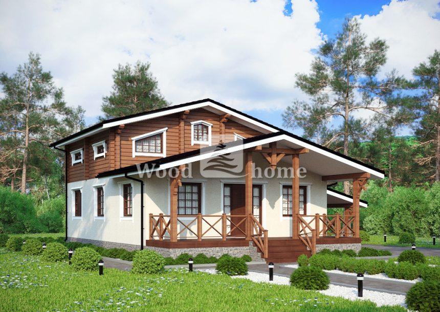 Деревянные дома в стиле шале