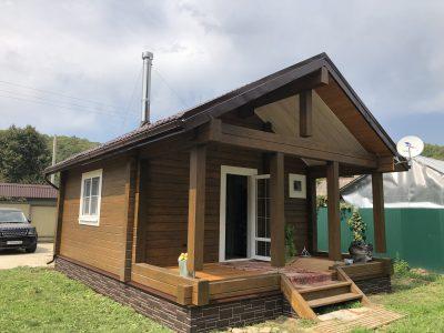 Дом из клееного бруса 1