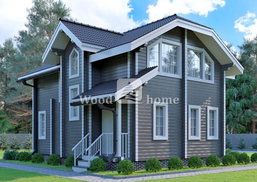 Дом из клееного бруса цена
