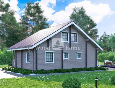 Дом из клееного бруса под ключ цена