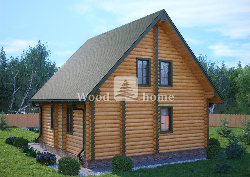 Дом из круглого бревна