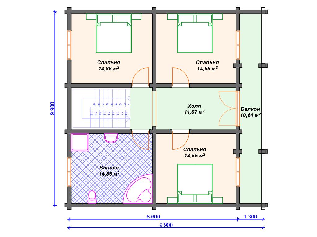Дом стиль шале цена