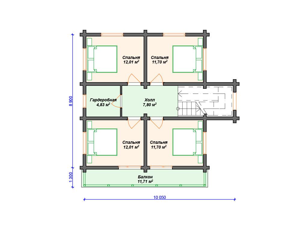 Дома в стиле современного шале
