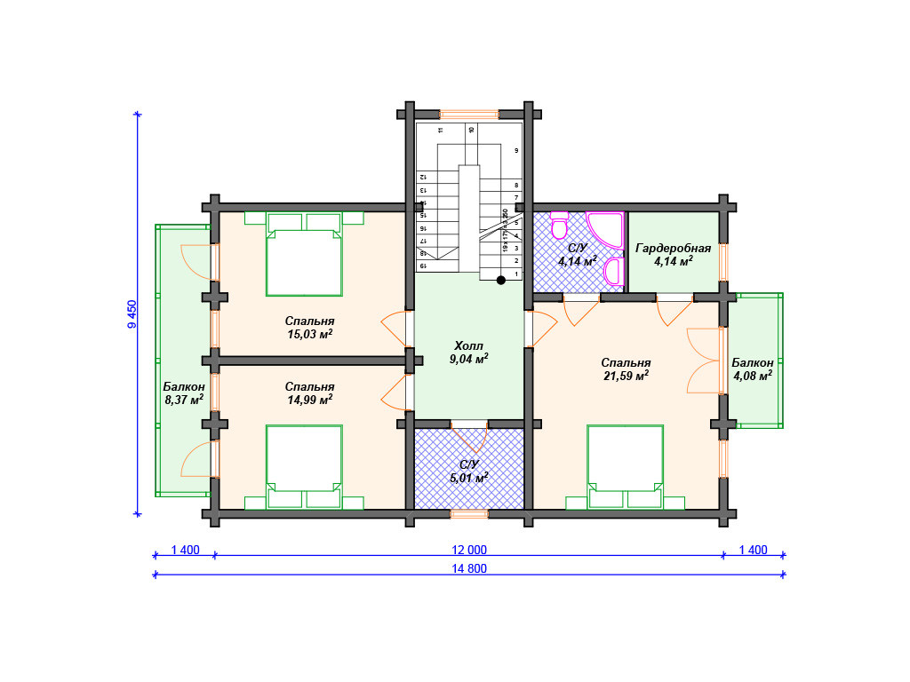 Дом в стиле шале с террасой фото