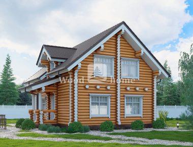 Дома цилиндрического бревна ключ