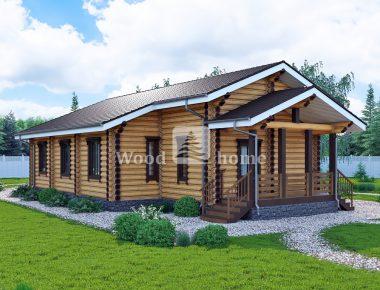Дома для круглогодичного проживания бревна