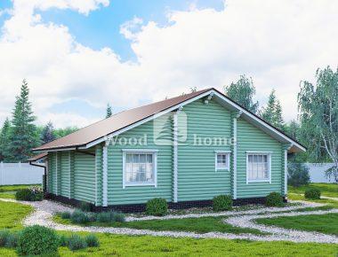 Дома из бревен фото цена