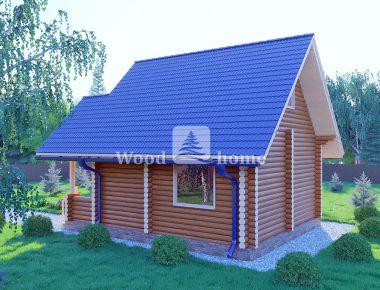 Дома из бревна для постоянного проживания