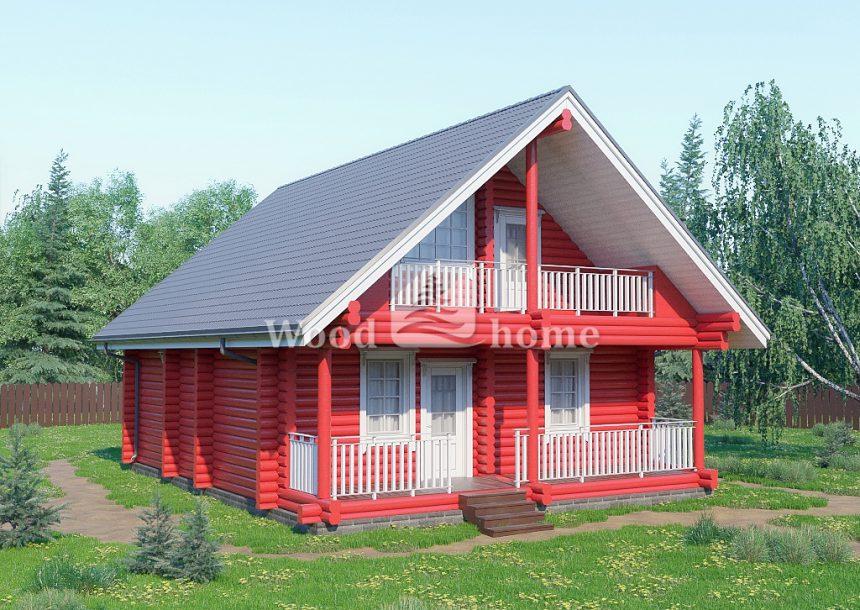 Дома из бревна для постоянного проживания цена