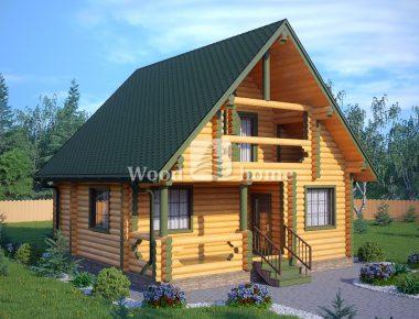 Дома из бревна для постоянного проживания недорого