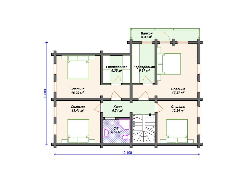 Дома комбинированные под ключ проекты