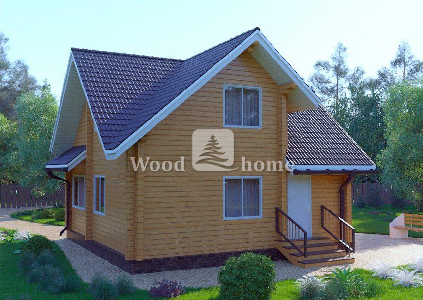 Двухэтажные недорогие дома