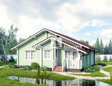 Готовые дома из бревна