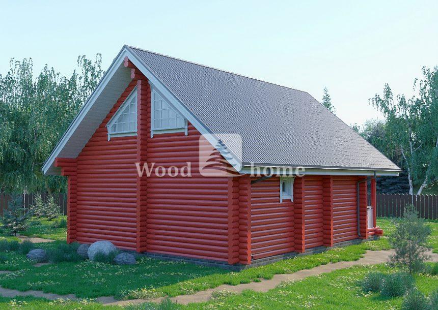 Готовые дома из бревна недорого