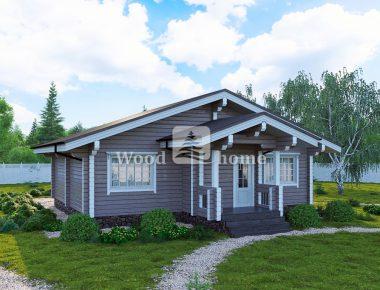 Готовые дома из бруса цены