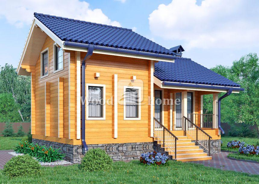 Готовые двухэтажные дома