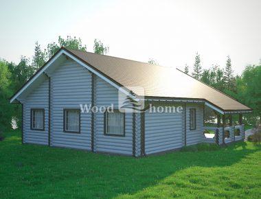 Готовые срубы домов из бревна недорого