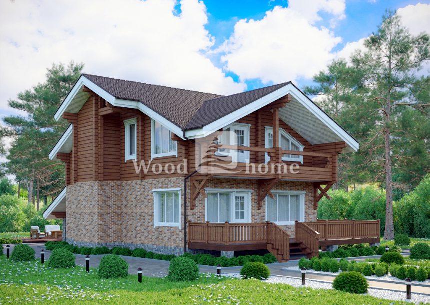 Комбинированные дома цена