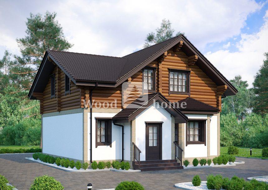 Комбинированные дома дом из блоков