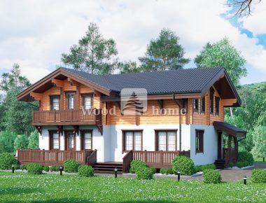 Комбинированные дома фото проекты