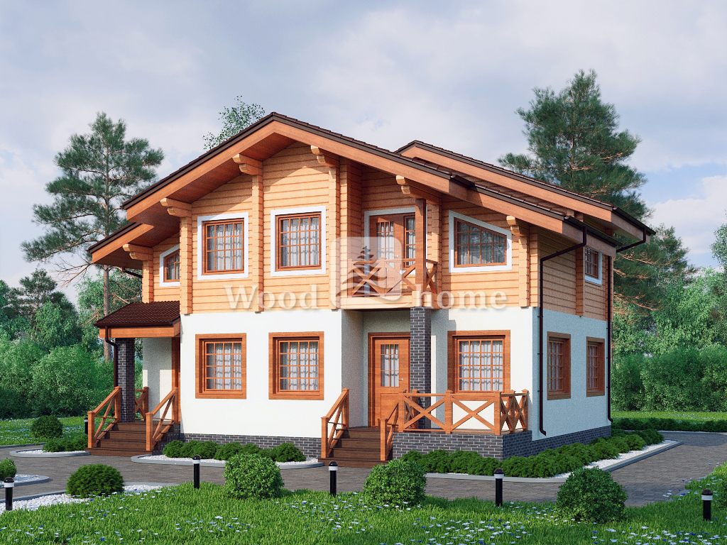 Комбинированные дома проекты и цены