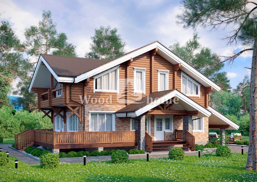 Комбинированный частный дом