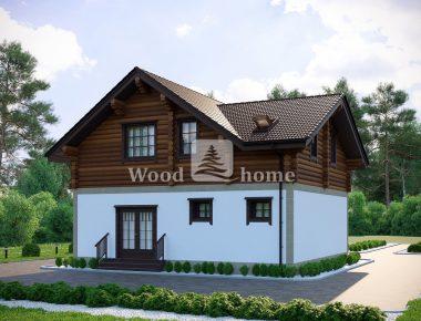 Комбинированный дом под ключ цена