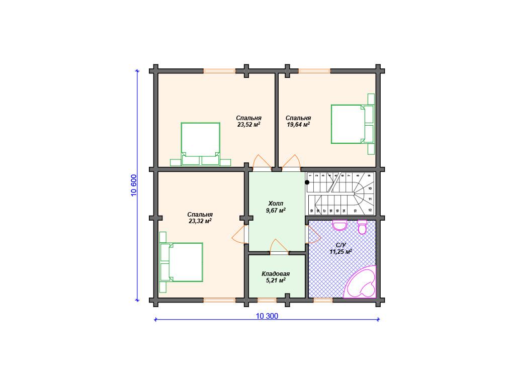 Комбинируемые дома кирпич брус