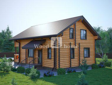 Красивые деревянные дома из бревна