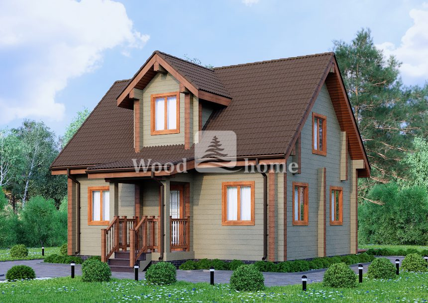Красивые двухэтажные дома