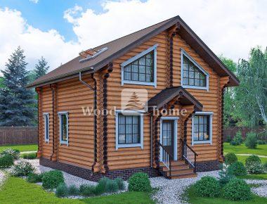 Лучшие дома из бревна