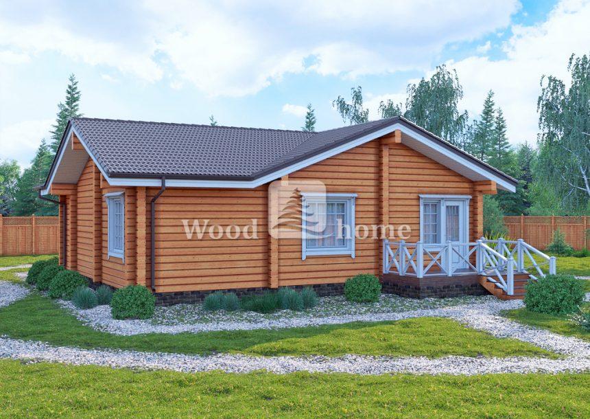 Одноэтажные финские дома
