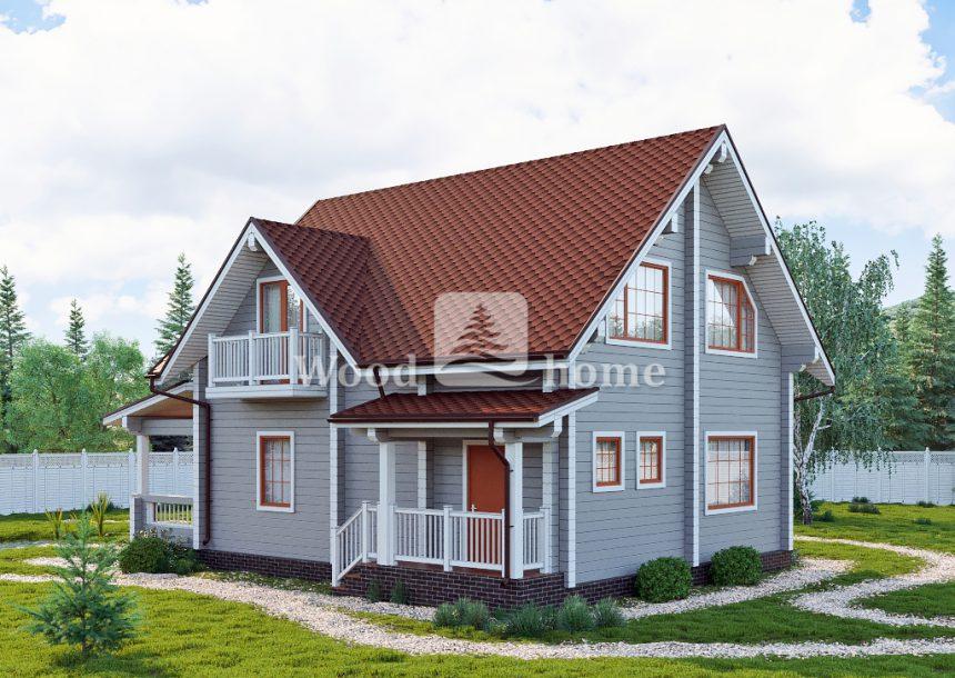 Одноэтажный дом 200 м2