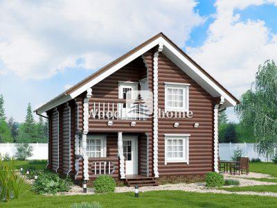Одноэтажный дом бревно цена