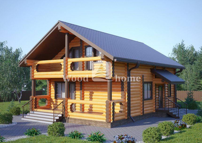 Построить деревянный дом бревно