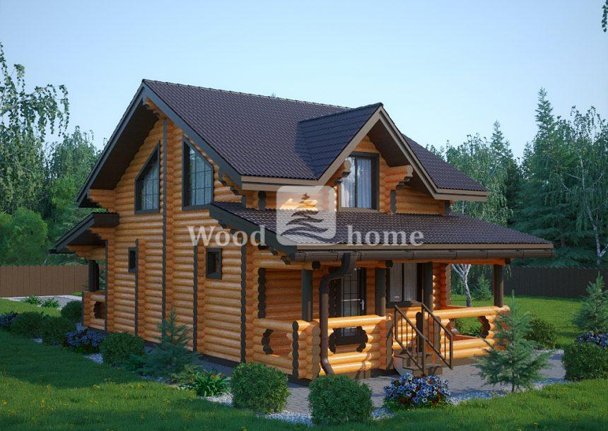 Построить дом из бревна цены