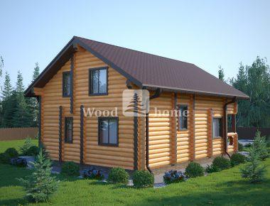 Построить дом из бревна под ключ цена