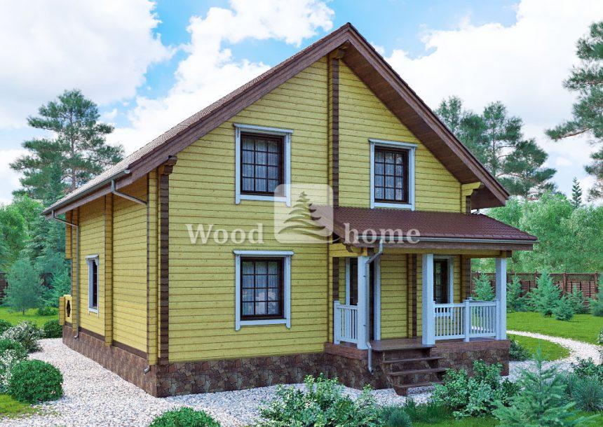 Построить дом из клееного бруса