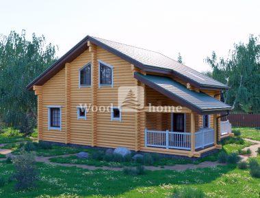 Построить сруб дома из бревна