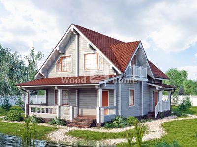 Проект дома 200 м2 двухэтажный