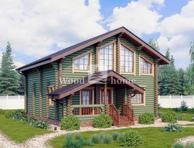Проекты домов из бревна 9х9
